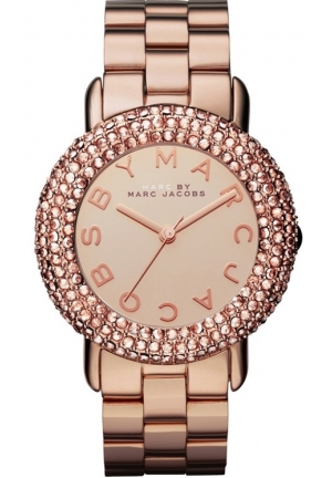 Marci Rose Gold Tone Stainless Bracelet Women's Watch 36mm