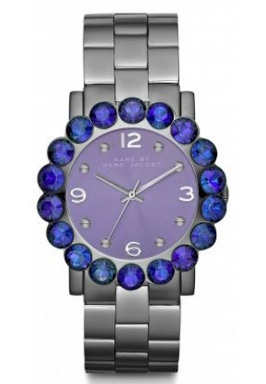 Marc Jacobs Women's 'Amy' Purple Stainless Steel Watch