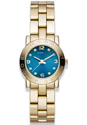MARC JACOBS Gold Steel Bracelet & Case Mineral Women's Watch 26mm MBM3304