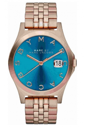 MARC JACOBS The Slim Rose Gold-Tone Stainless Steel Bracelet Watch 36mm MBM3318