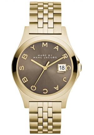 Women's The Slim Gold-Tone Stainless Steel Bracelet Watch 36mm MBM3349