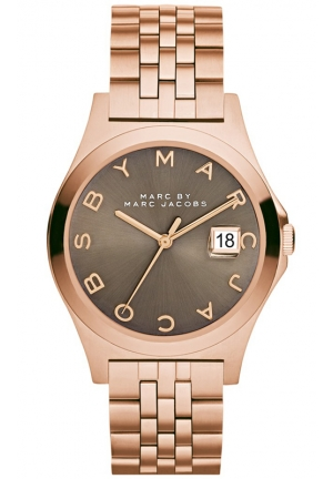 Women's The Slim Rose Gold-Tone Stainless Steel Bracelet Watch 36mm MBM3350