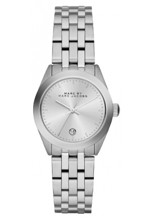 MARC JACOBS Peeker Silver Dial Stainless Steel Ladies Watch 26mm MBM3373