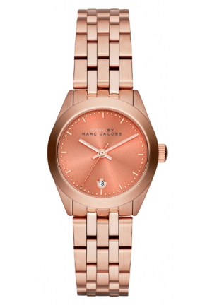 MARC JACOBS Peeker Rose Gold Tone Watch 26mm MBM3377