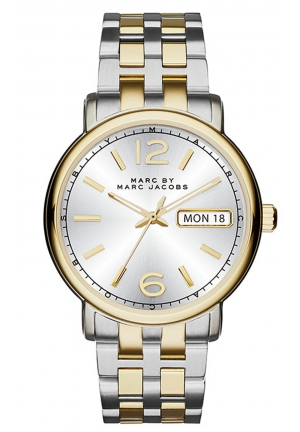 MARC JACOBS Fergus Analog Display Two-Tone Watch 38mm MBM3426