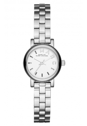MARC JACOBS Silver Dinky Baker 20mm