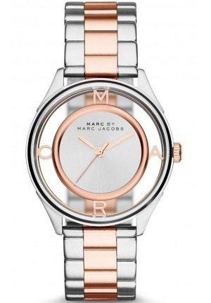 MARC JACOBS Tether Three Hand Stainless Steel Watch - Rose Gold-Tone 36mm