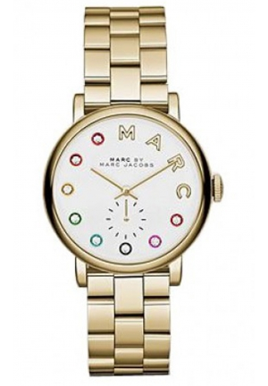 MARC JACOBS Gold Baker Dexter Bracelet 36mm MBM3440
