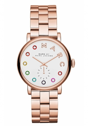 Marc by Marc Jacobs Women's Baker Rose Gold-Tone Stainless Steel Watch