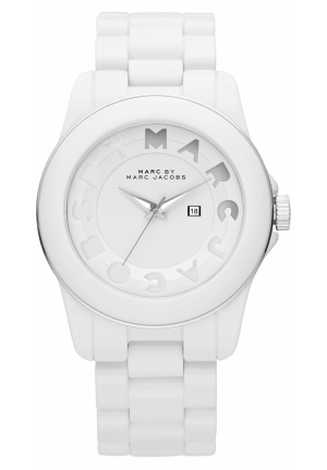 Women's Icon Stripe Watch 42MM MBM4565