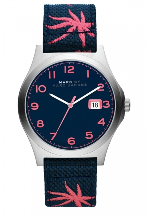 MARC JACOBS Analog Display Analog Quartz Blue Watch  MBM5087