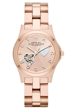 Marc Jacobs Women's Henry Icon Rose Gold Watch