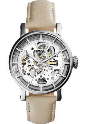 FOSSIL BOYFRIEND AUTOMATIC SKELETON LADIES WATCH 38MM
