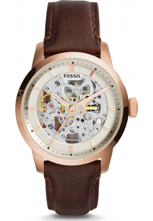 FOSSIL ME3078 MEN'S TOWNSMAN AUTOMATIC SELF WIND BROWN WATCH 40MM