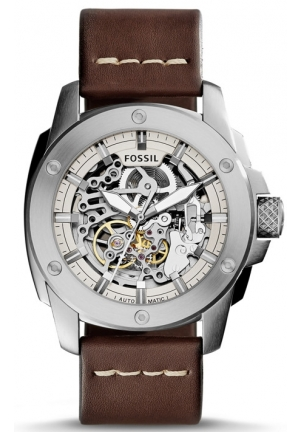 Fossil Modern Machine Automatic Leather Watch