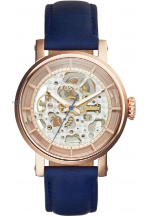 Fossil Original Boyfriend Skeleton Dial Ladies Automatic Watch ME3086