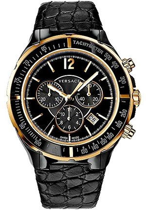 Men's Date Tachymeter Watch 45mm