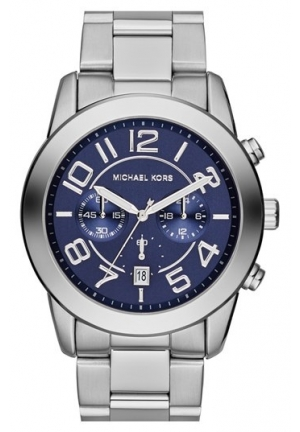Men's 'Mercer' Large Chronograph Bracelet Watch, 45mm