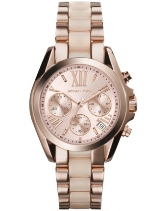 MICHAEL KORS Chronograph Bradshaw Rose Gold Watch 36mm