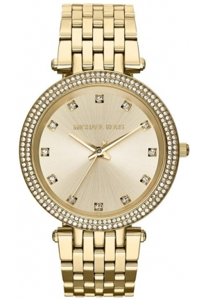 Michael Kors Darci Crystal Bezel Bracelet Watch