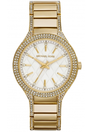 MICHAEL KORS Kerry Gold Tone Watch 38mm
