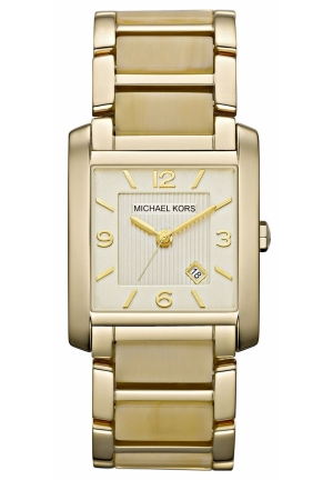 MICHAEL KORS Women's Gold-tone Stainless Steel Bracelet 30mm
