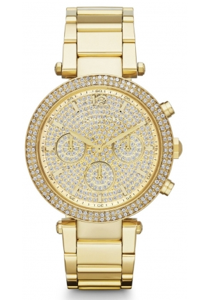 Michael Kors Women's Parker Gold Watch 39mm