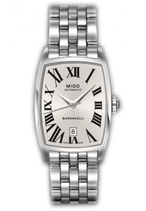 Mido Ladies Watch Automatic Baroncelli Tonneau 23.5