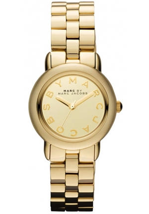 MINI MARCI GOLD MIRROR DIAL WOMEN'S WATCH 26MM MBM3174