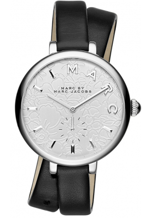 Marc Jacobs Sally Silver Dial Ladies Watch