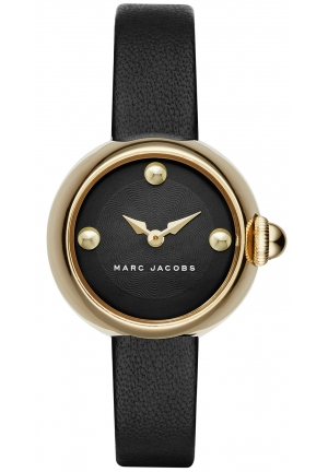 Ladies Marc by Marc Jacobs Courtney Leather Watch