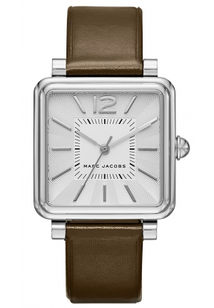 Marc by Marc Jacobs Women's 'Vic' Quartz Stainless Steel and Brown Leather Casual Watch