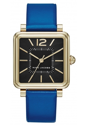 Marc Jacobs Navy Leather Vic Watch