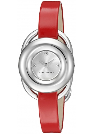 Jerrie Silver Dial Ladies Leather Watch