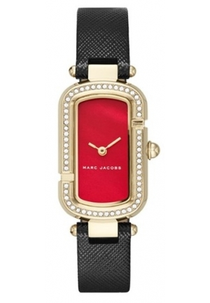 Marc Jacobs Women's The Jacobs Black Leather Watch