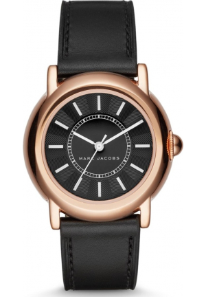MARC JACOBS COURTNEY BLACK LADIES WATCH 34MM
