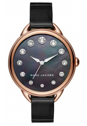 Marc Jacobs Women's Betty Black Patent Leather Watch