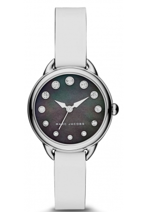 Marc Jacobs Women's Betty White  Leather Watch