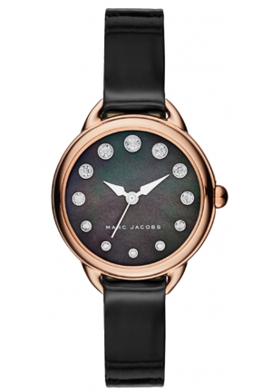 Marc Jacobs Women's Betty Black Leather Watch