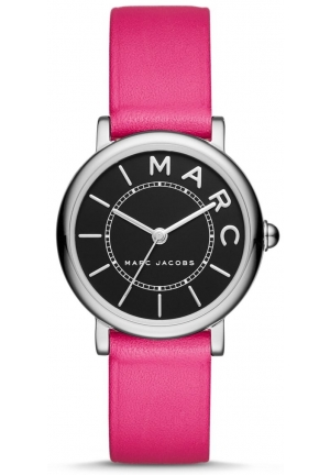 Marc Jacobs Women's Roxy Fuchsia Leather Strap Watch 28mm