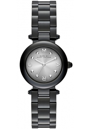 MARC JACOBS Dotty Gunmetal-Tone Stainless Steel Watch 26mm MJ3453