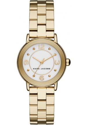 Marc Jacobs Riley Watch Gold Tones Steel, 28mm