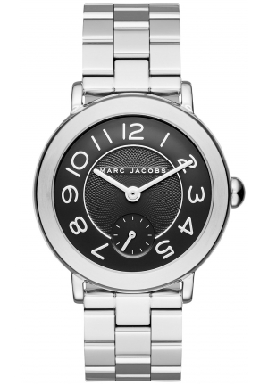 Riley Stainless-Steel Three-Hand Watch,36MM