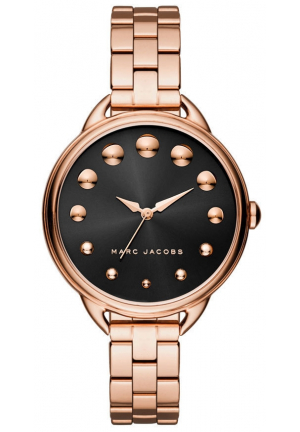 Marc Jacobs Betty Rose Gold Stainless Steel Watch
