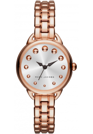 Marc Jacobs Ladies Betty Rose Gold Steel Bracelet Watch