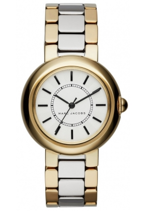 Marc Jacobs Ladies Courtney Two Tone Steel Bracelet Watch