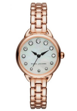 BETTY MOTHER OF PEARL DIAL LADIES ROSE GOLD WATCH MJ3511, 28MM