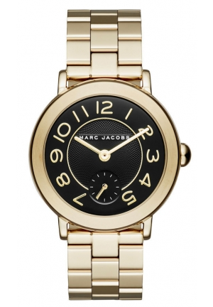 Riley Gold-Tone Three-Hand Watch 36MM