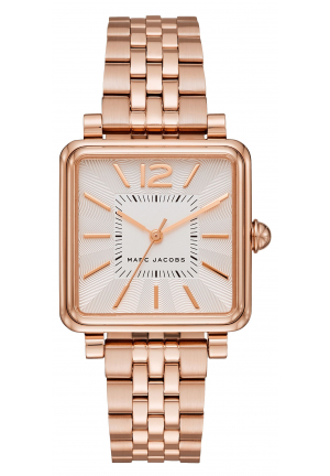 Vic Ladies Rose Gold Tone Watch 30mm MJ3514