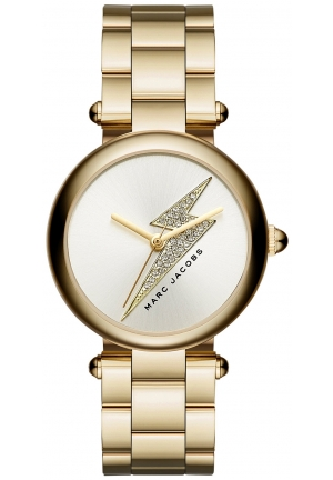 THE DOTTY GOLD TONE WATCH 34MM